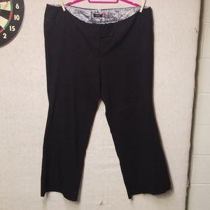Torrid Black Dress Trousers 26W Tall